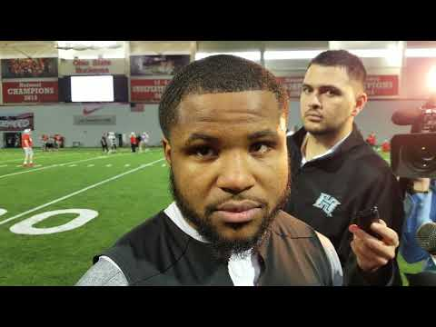 Mike Weber talks spring football and season goals
