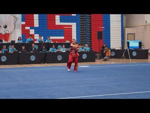 [2019] Stephanie Lim - 2nd - 9.21 - Gunshu - US Wushu Team Trials