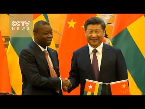 Xi Jinping meets Togolese President in Beijing