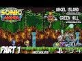 Sonic Mania Plus Encore Mode DLC Gameplay Walkthrough Part 1 Angel Island Zone Green Hill Zone mp3
