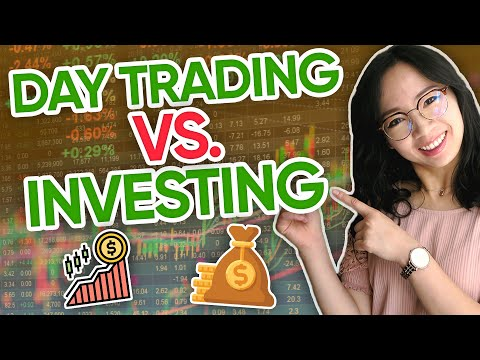 Should you Day Trade or Invest in Stocks? Day Trading vs Long Term Investing