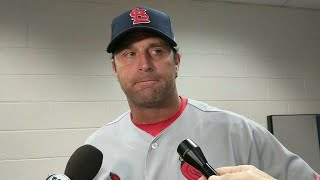 STL@ARI: Matheny talks Wainwright, Rosenthal