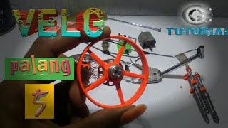Cara membuat velk palang miniatur motor