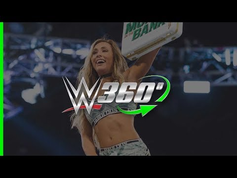 Experience high-flying 360° action from the Women's Money in the Bank Ladder Match!