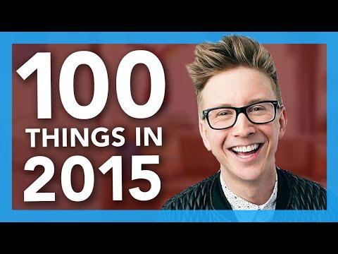 100 Things We Did In 2015   Tyler Oakley