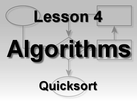 Algorithms Lesson 4: Quicksort