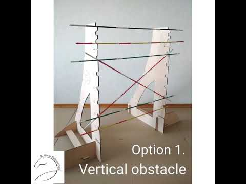 How to Assemble Obstacle for Hobby Horse jumping