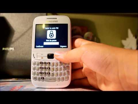 Déballage et test du Samsung chat 357