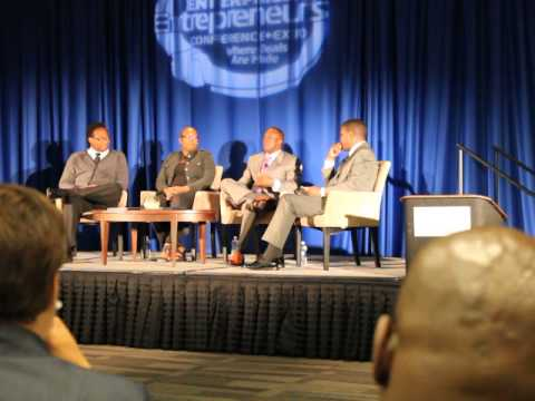 Black Enterprise -Education Through Technology Panel With Th