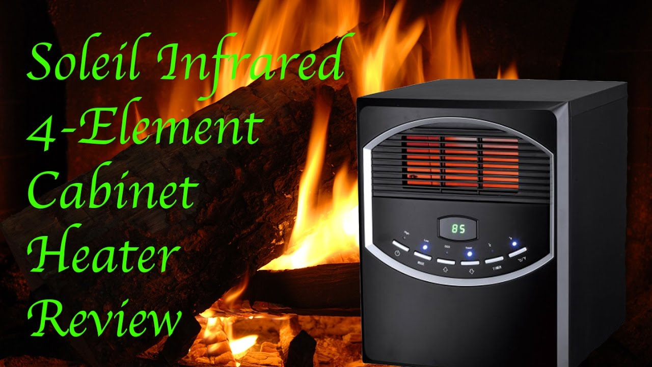 Soleil Infrared 4 Element Cabinet Heater Review