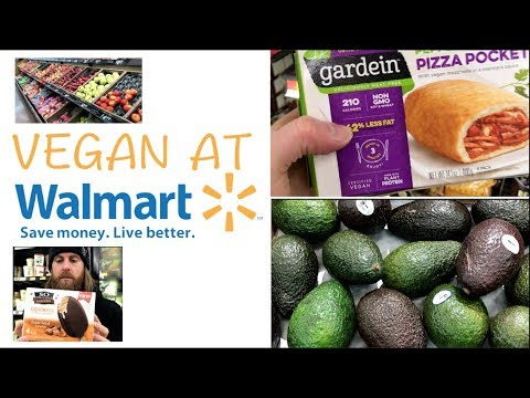 VEGAN Options at WALMART | On A Budget $