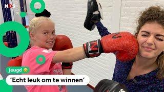 Roxanne is wereldkampioen kickboksen