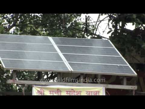 Roof-top solar power generation in India