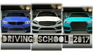 Driving School 2017 DRAG RACE - BMW vs Audi vs Mercedes-Benz Drag Race