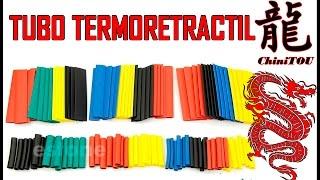 Como funcionan los tubos termoretractiles + Unboxing | Heatshrink Tubes