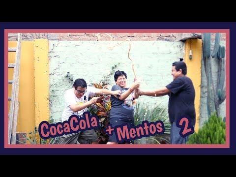 COCA COLA + MENTOS 2 - Ariana Bolo Arce
