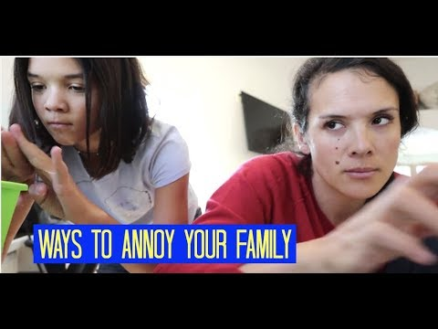 WAYS TO ANNOY YOUR SIBLINGS W/ PRANKS!