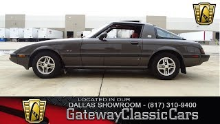 1983 Mazda RX-7 GSL #521-DFW Gateway Classic Cars of Dallas