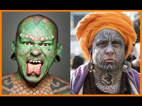 Mejores Tatuajes En La Cara Youtube