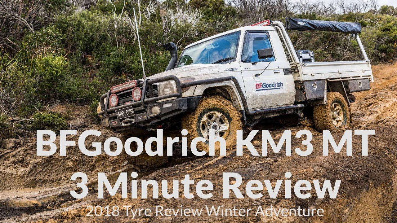 bfgoodrich km3 m t 3 minute review tyre review winter. Black Bedroom Furniture Sets. Home Design Ideas