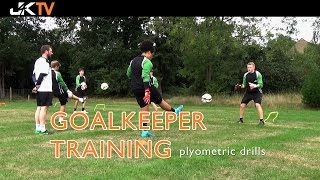 Goalkeeper Training Plyometric Drills