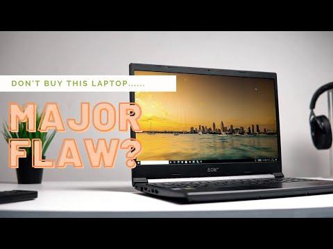 Acer Aspire 7 2021 (AMD 5500U+ GTX 1650) My Opinions
