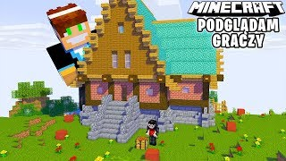 NOWA EDYCJA TO NOWY PODPIS! | Minecraft Podglądam Graczy