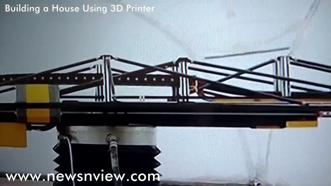 world record building a home with 3d printer house