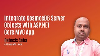 Integrate CosmosDB Server Objects with ASP.NET Core MVC App
