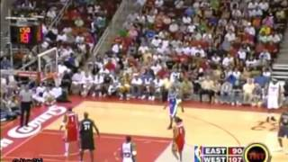 Tracy Mcgrady and Gilbert Arenas 3 pointers shootout in 2005 Houston Relief Game