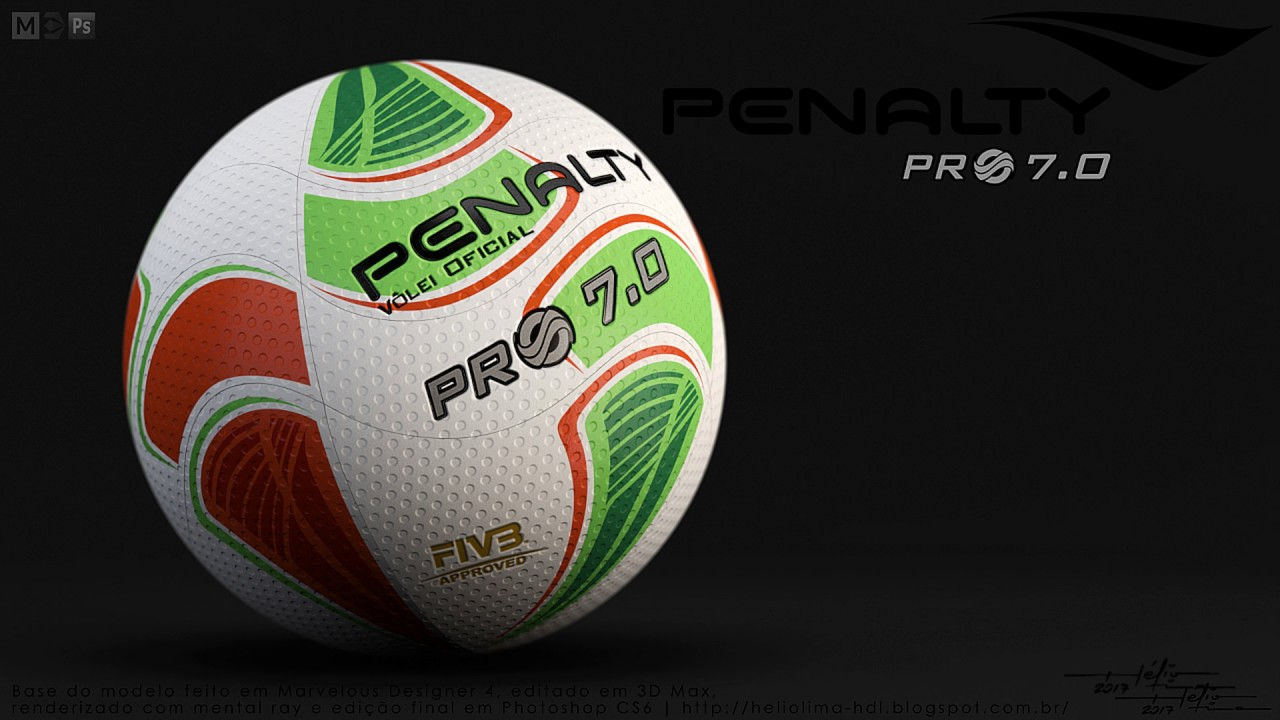 Speed Making of - Bola de volei Penalty Pro 7.0 - YouTube 383a7ac6c0c8f