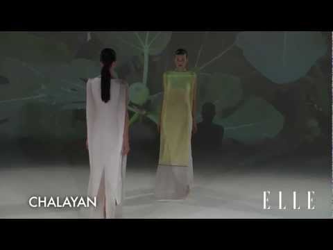 Chalayan 2013 SS Runway Show Paris Fashion Week ELLE TV