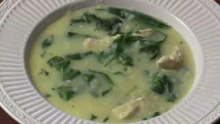 Chicken Lemon Rice Soup- Ginger Flavor