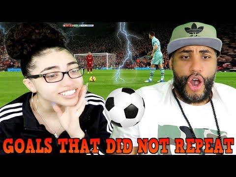 MY DAD REACTS TO Goals That Did Not Repeat REACTION