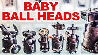 Best small travel tripod ball head? Joby VS E-Image VS Aputure