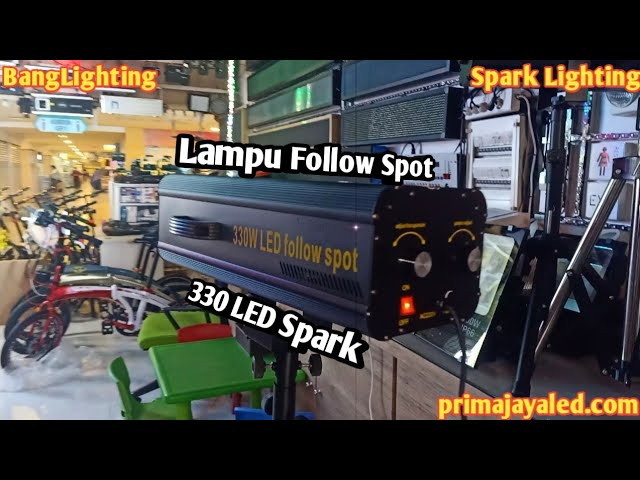 Lampu Follow Spot 330 LED Spark