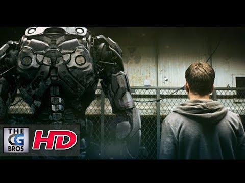 "CGI VFX Short Film Trailer : ""BotWars Teaser"" - by Alex & Steffen 