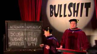 Penn & Teller on Acronyms and Initialisms