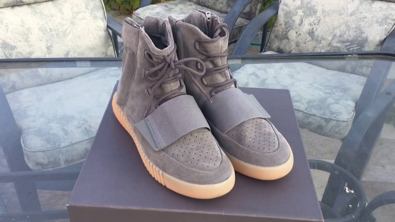 9081f865ca0 Adidas Yeezy Boost 750 Glow In The Dark Review + On Feet! - YouTube