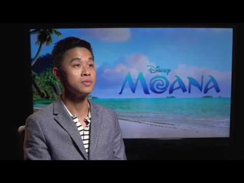 Disney's Moana Press Interview - Roger Lee, Lighting Artist