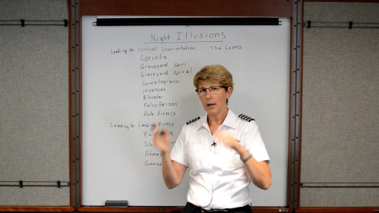 Night Illusions (Private Pilot Lesson 15d)
