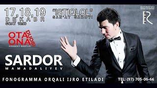 Sardor Mamadaliyev - Ota-ona duosi nomli konsert dasturi 2016