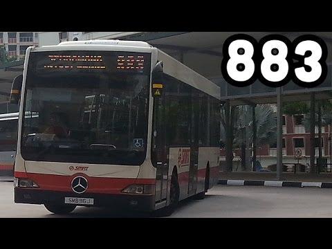 SMRT Service 883 | Sembawang - Yishun Central 2 [Loop] | Part 2/2