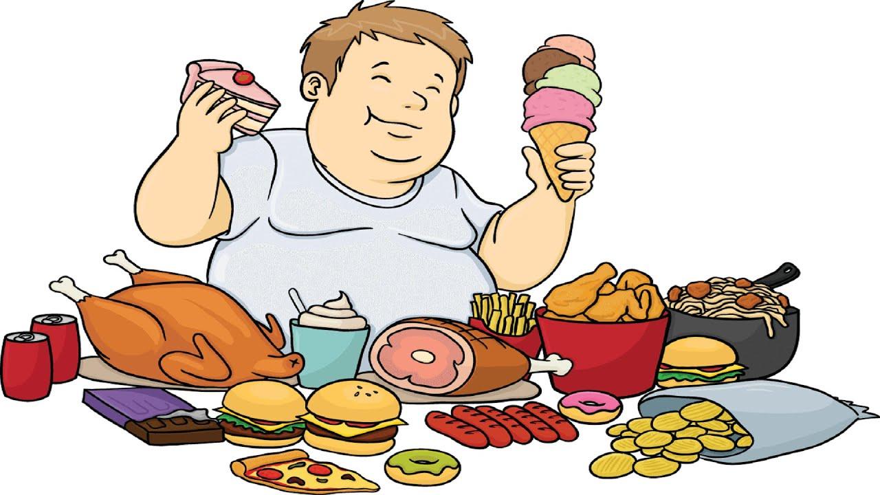 Man Fast Food