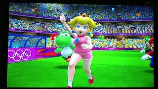 Mario and Sonic at the London 2012 Olympic Games- Football team Mario