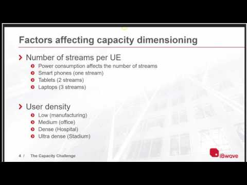 The Capacity Challenge - iBwave Wi-Fi Guest Webinar