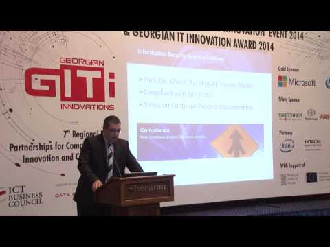 David Bulavrishvili - Implementation of Information Security policy in Georgia