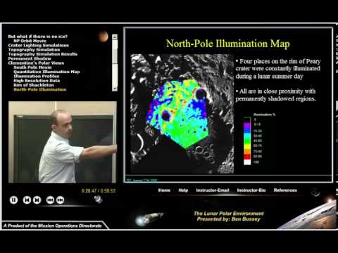 Moon 101. 07. The Lunar Polar Environment