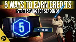 5 ways to earn CREDITS FAST - Battlefront 2