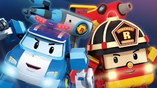 Rescue Tool Play Best Collection Vol. 1  Fire Hose  more tools  Cartoon for Kids Robocar POLI TV